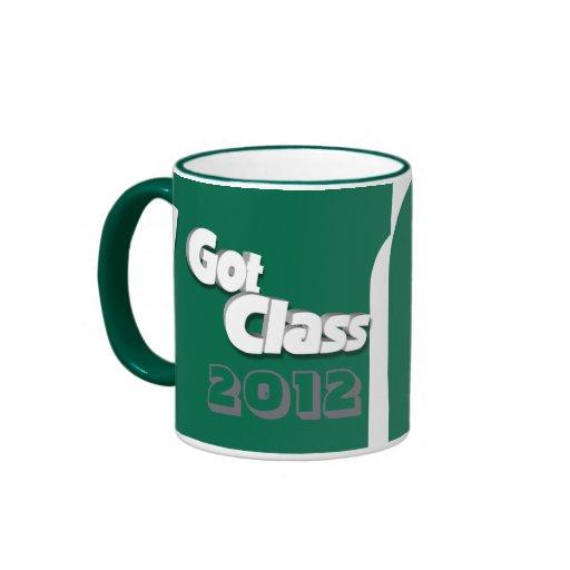 Conseguí la clase 2012 taza a verde y blanca