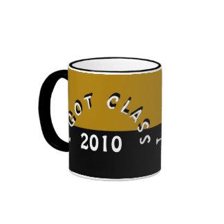 Conseguí la clase (bronce y el negro) taza de café