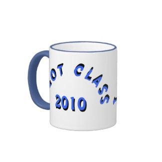 Conseguí la clase (los azules claros) tazas de café