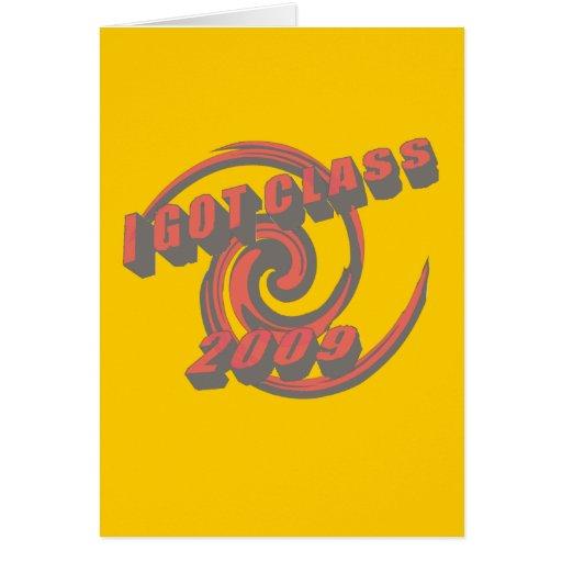 Conseguí la tarjeta de felicitación del remolino d