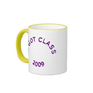 Conseguí la taza de la púrpura de la clase 2009