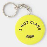 Conseguí llavero azul marino de la clase 2009