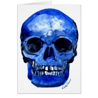Conseguí los azules tarjeta de felicitación