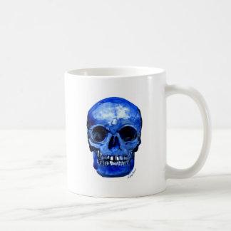 Conseguí los azules taza