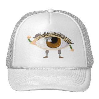 Conseguí mi ojo en usted gorro