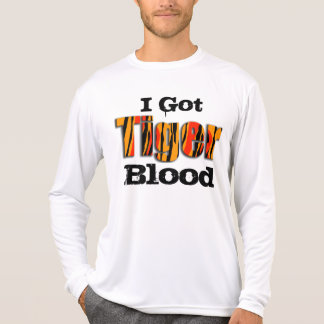 Conseguí sangre del tigre playera
