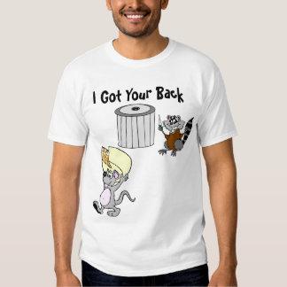 Conseguí su camiseta básica trasera playera