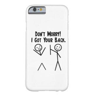 Conseguí su caso trasero del iPhone 6 Funda De iPhone 6 Barely There