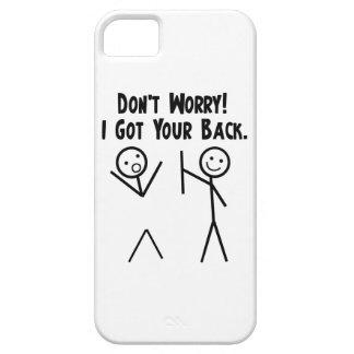 Conseguí su iPhone trasero 5 iPhone 5 Case-Mate Cárcasa