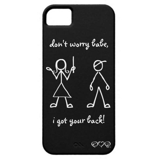¡conseguí su parte posterior! iPhone 5 carcasa