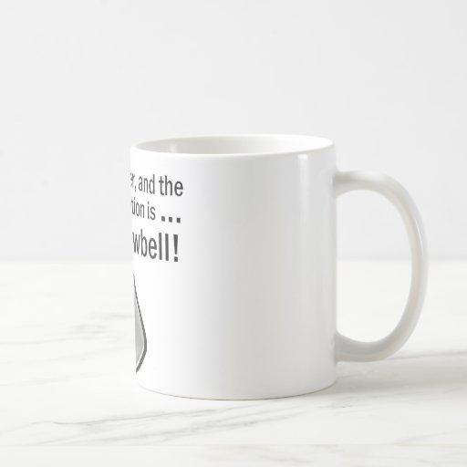 Conseguí tener más cencerro tazas de café