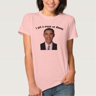 Conseguí un agolpamiento en Obama Playeras