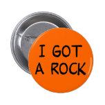 Conseguí un botón de la roca pin