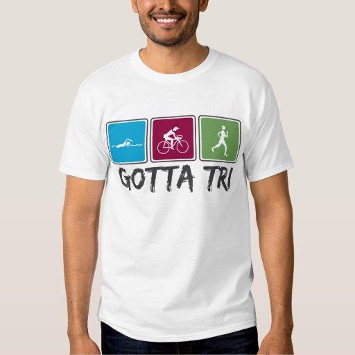 conseguido a tri (Triathlon) Playera