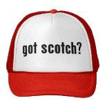 ¿conseguido escocés? gorro de camionero