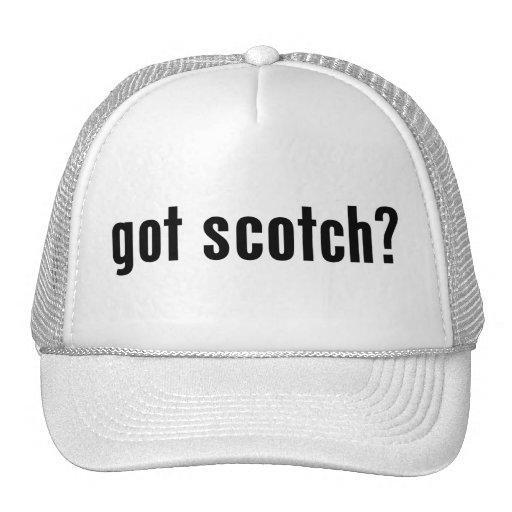 ¿conseguido escocés? gorros bordados