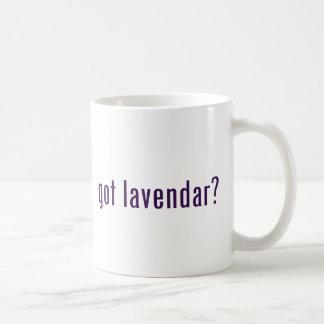 ¿conseguido lavendar? taza