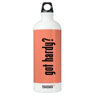 ¿conseguido resistente? botella de agua