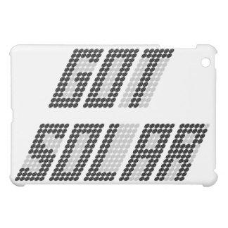 Conseguido solar - caso del iPad