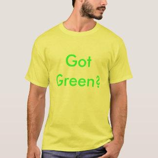 ¿Conseguido verde? Playera
