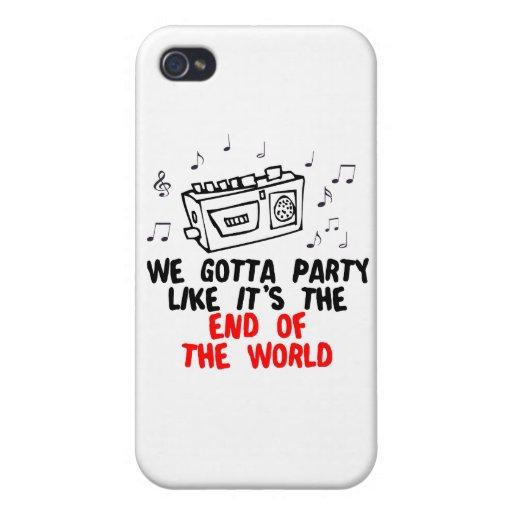 Conseguimos ir de fiesta como es el extremo del mu iPhone 4 carcasas