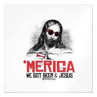 Conseguimos la cerveza y a Jesús