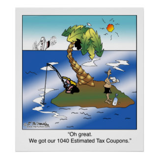 Conseguimos nuestras 1040 cupones del impuesto est posters