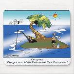 Conseguimos nuestras 1040 cupones del impuesto est tapete de ratón