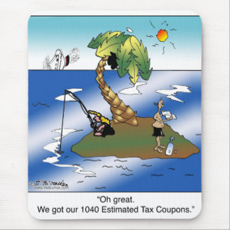 Conseguimos nuestras 1040 cupones del impuesto tapete de ratón