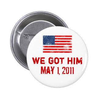 Conseguimos Osama Pin