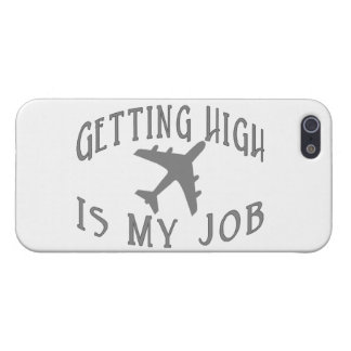 Conseguir al alto piloto de la línea aérea iPhone 5 carcasas