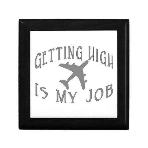 Conseguir al alto piloto de la línea aérea caja de regalo