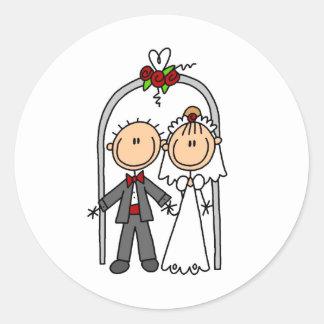 Conseguir al pegatina casado