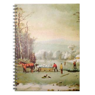 Conseguir el cuaderno del hielo