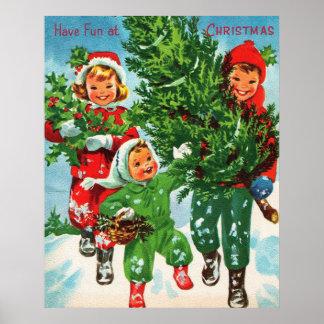 Conseguir el poster del árbol de navidad póster