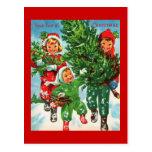 Conseguir la postal del árbol de navidad