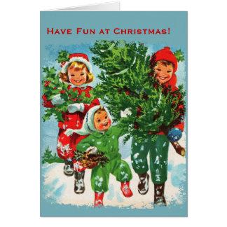 Conseguir la tarjeta de Navidad del árbol de navid