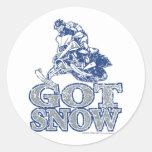 Conseguir-Nieve-Apenado-GreyBlu Etiqueta