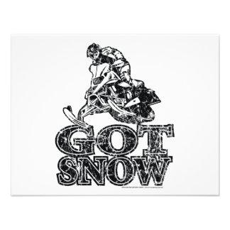 Conseguir-Nieve-Apenado Invitacion Personalizada