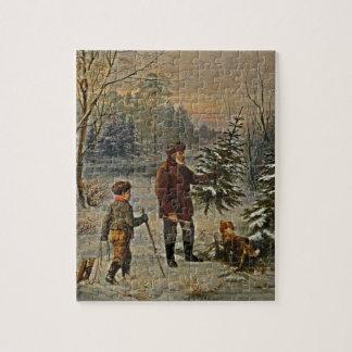 Conseguir un árbol de navidad puzzles con fotos