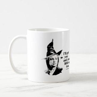 Conseguiré le y su pequeño perro - - Hillary anti Taza De Café