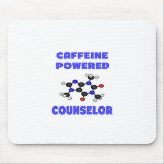 Consejero accionado cafeína alfombrillas de ratón