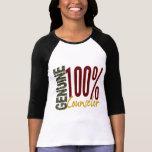 Consejero auténtico camisetas