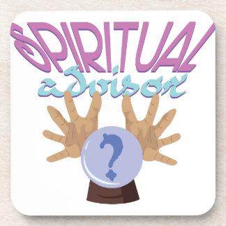 Consejero espiritual posavasos de bebidas