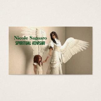 Consejero espiritual tarjeta de negocios
