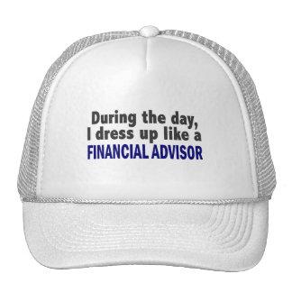 Consejero financiero durante el día gorras