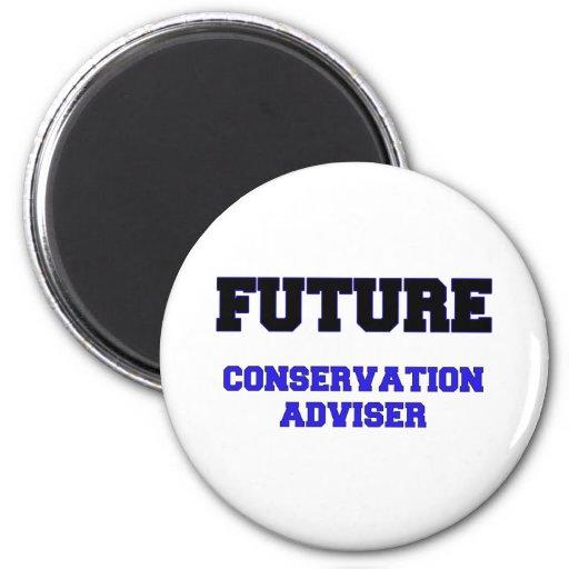 Consejero futuro de la protección imanes de nevera