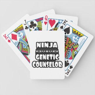 Consejero genético de Ninja Baraja De Cartas