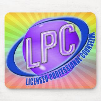 CONSEJERO PROFESIONAL AUTORIZADO LOGOTIPO DEL LPC  MOUSEPADS
