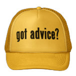 ¿consejo conseguido? gorros bordados